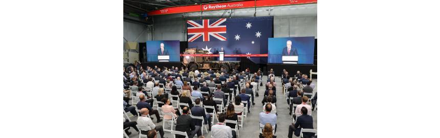 Raytheon Australian Prime Ministers Speech