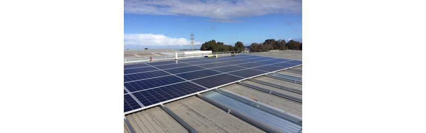 Solar Panels at Flagworld