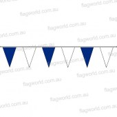 Pennant Bunting Blue & White