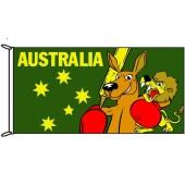 Fighting Roo Flag