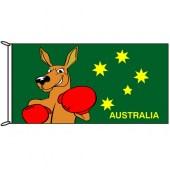 Fighting Kangaroo Flag