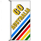 Go Australia (Stripes) Flag