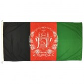 Afghanistan flag 1800mm x 900mm (Woven)