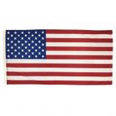American Flag 1800mm x 900mm (Fully Sewn, Vertical Sleeve)