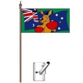Battle Flag of Australia Bracket and Pole Kit