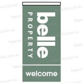 Belle Property welcome flag