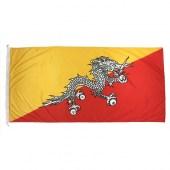 Bhutan Flag 1800 x 900mm (Woven)