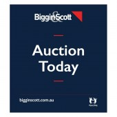 Biggin & Scott Auction Today Signboard Flag