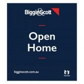 Biggin & Scott Open Home Signboard Flag