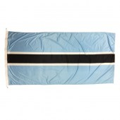 Botswana Flag 1800mm x 900mm (Knitted)