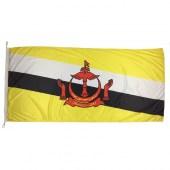 Brunei Flag 1800mm x 900mm (Knitted)
