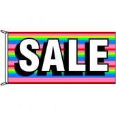 Sale Flag Rainbow