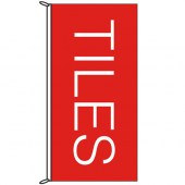Tiles Red Flag 1800mm x 900mm (Knitted)