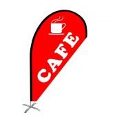 Cafe small teardrop flag kit