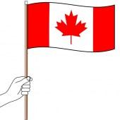 Canada Handwaver  Hand Flag