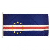 Cape Verde Flag 1800mm x 900mm (Knitted)