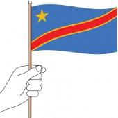 Congo Hand Flag Handwaver