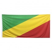 Congo (Republic of) Flag 1800mm x 900mm (Knitted)