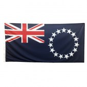 Cook Islands Flag 1800mm x 900mm (Knitted)