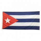 Cuban Flag 1800mm x 900mm (Knitted)