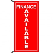 Finance Available Vertical Flag