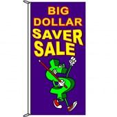 Big Dollar Saver Sale Flag