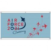 Air Force Centenary Light Blue Eyelet Flag