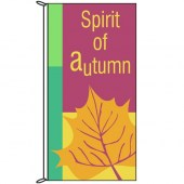 Autumn Flag -Spirit of Autumn 900mm x 1800mm (Knittted)