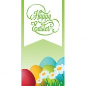 Easter 6A Flag 900mm x 1800mm (Knitted)