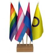 Pride Flags Desk Set