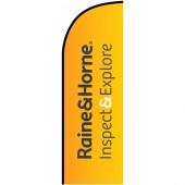 Raine & Horne Inspection Small Feather Flag