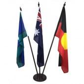 Australian, Aboriginal, TSI Foyer Display with wooden base