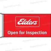 Elders Open for Inspection Flag