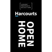 Harcourts Luxury Property Open Flag
