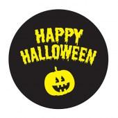 Happy Halloween Outdoor Floor Sticker