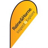 Raine & Horne Small Tear Drop Inspect & Explore Flag