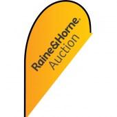 Raine & Horne Auction Small Tear Drop Auction Flag