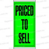Priced to Sell Flag