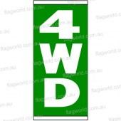 4wd Flag