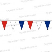 Pennant Bunting Red, White & Blue