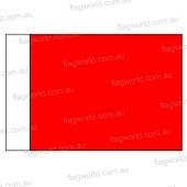 Red Golf Flag