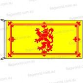Scottish Rampant Lion Flag