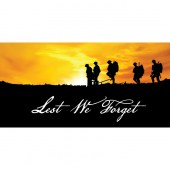 Remembrance Day Flag  - Soldiers Sunset Horizontal  (21)