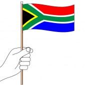 South Africa Hand Flag Handwaver