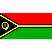 Vanuatu flag - woven polyester