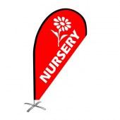 Nursery Small Teardrop Flag Kit