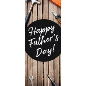 Fathers Day Design Pull Up Banner