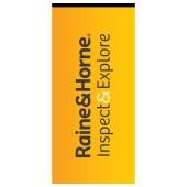 Raine & Horne Inspect & Explore RH Flag 800 x 1700