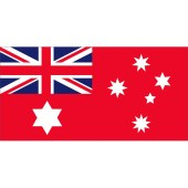 Red Ensign, Histocial Design - Fully Sewn Flag - 1800mm x 900mm