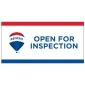Remax OFI Flag, Remax Open for Inspection